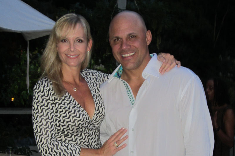Michelle & Jim Leyritz - East Hampton