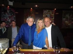 Alex Gregg, Michelle & Jim Leyritz -Not Elaine's Restaurant