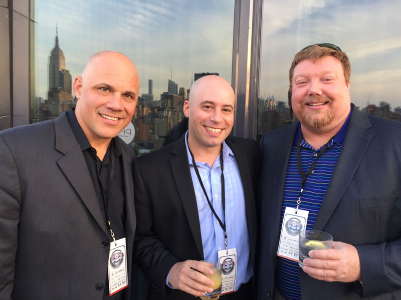 Jim Leyritz, Mike Polsky, Red Walsh - Dream Hotel