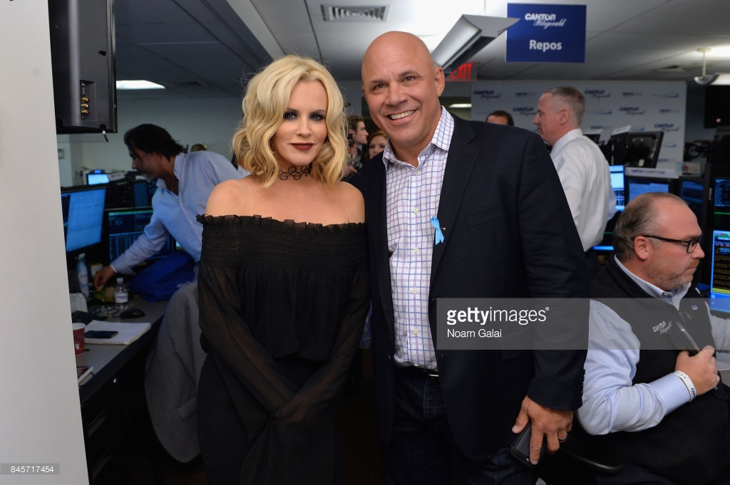 Jenny McCarthy and Jim Leyritz